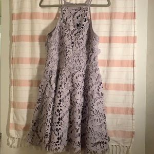 Lavender lace dress, great quality, beautiful